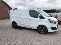 2013 FORD TRANSIT CUSTOM 2.2 250 LR P/V 99 BHP DIESEL FINANCE PARTX WELCOME
