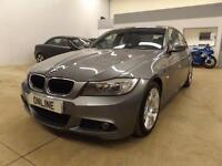 BMW 3 SERIES 318D M SPORT, Grey, Manual, Diesel, 2011