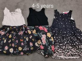4-5 years clothing bundle