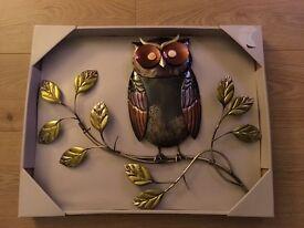 Ornamental Owl Wall decoration