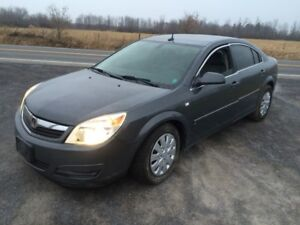 2007 Saturn Aura winter ready