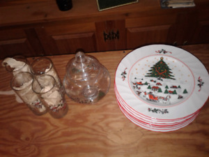 Christmas dishes