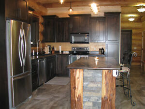 Spectacular Custom Built Pioneer Log Home in 150 Mile House Williams Lake Cariboo Area image 3