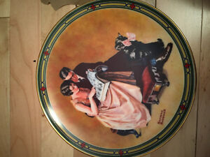 Rockwell's American dream plates collection