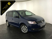 2012 VOLKSWAGEN TOURAN SPORT TDI AUTOMATIC 7 SEATS 1 OWNER FROM NEW FINANCE PX