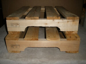 Two Small Wooden Pallets for DIY Projects London Ontario image 7
