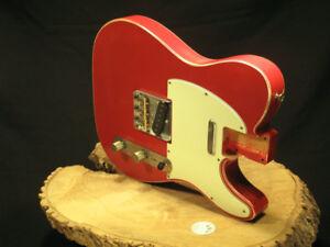 Custom Vintage Aged Nitro Telecaster Tele Guitar LOADED Body