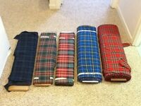 Various Tartan Fabric Bolts