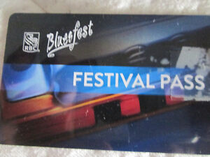 2 ticketsBlues Fest, Ottawa July 6th to see Sam Roberts & others