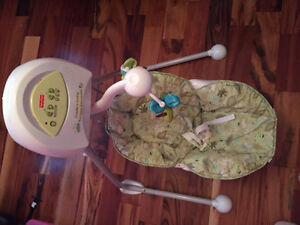 Fisher price craddle and swing