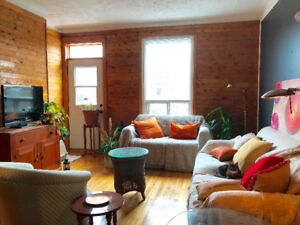 A warm and charming apartment in the heart of Verdun (5 ½)