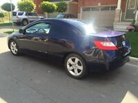 Honda Civic 2007 LX with safety and e tested