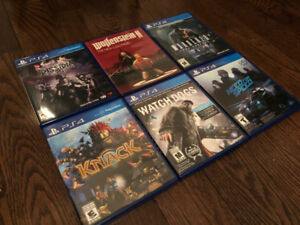 (Game Sale) Playstation 4 Games + Controller