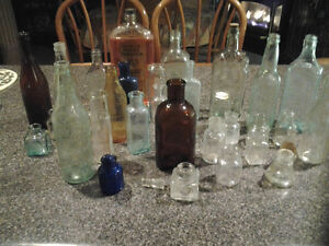 MISCELLANEOUS OLD BOTTLE COLLECTION Windsor Region Ontario image 1