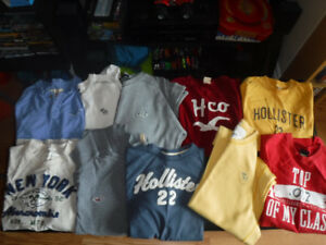 Abercrombie & Fitch, Hollister Mens Lot of 10 XL Shirts