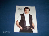 SIGNED COLOR PHOTOGRAPH-TV PERSONALITY-GREEK?-COLLECTIBLE!