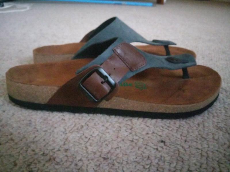 9 Sandals Comfortfusse Leather 43Shoes Men's Size 1cTlKFJ