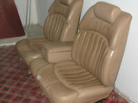 Leather Seats for Buick Roadmaster or Hot Rod or Street Rod