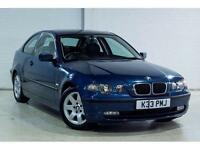 BMW 320 2.0TD 2002MY td Compact + NEW MOT