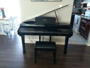 Robson Electric Baby Grand Piano
