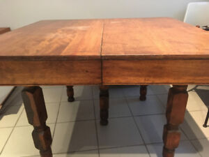 ANTIQUE TABLE - WE NEED SPACE!!!