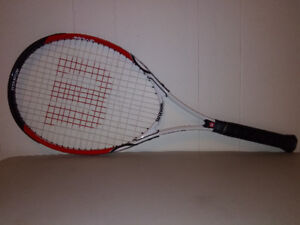 Racket for Tennis and Badminton
