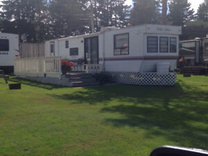 Three Rental RV's, Family Park Model, Couples Unit, Motorhome