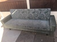 2 green settees in small heath £30