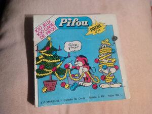 COLLECTIONNEURS : lot de Pifou de poche & autres 1974 - 1977