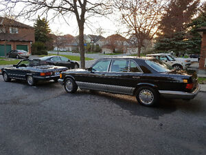 1987 420sel - classic mercedes car - Southern family limo.