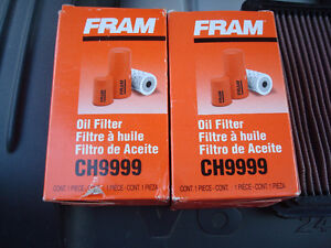 K&N Reusable Air Filter and Fram Oil Filters