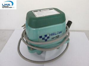 HIBLOW HP-10 AIR PUMP AC115V 60Hz 8.5W - POMPE