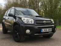 Toyota RAV4 XT-R D-4D diesel leather sunroof