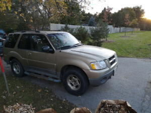 Ford Explorer, 4x4, 2004, 230000 km, running condition