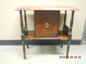 Antique Smokers / Storage Table