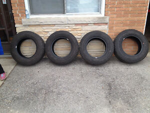 LT245/70R17 Goodyear Wrangler A/T tires for sale