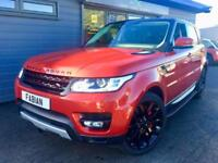 2015 64 Land Rover Range Rover Sport 3.0SDV6 4X4 Auto HSE **FIRENZE RED**