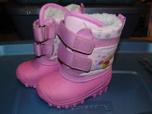 Girls Winnie the Pooh Winter Boots St. John's Newfoundland image 1