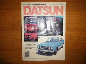 Petersen's 70s Datsun Z Car 620 Truck Roadster V8 Conversion 510