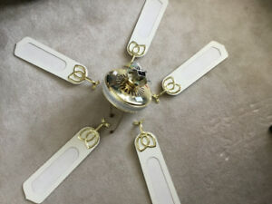 Ceiling Fan - No light - GREAT Condition