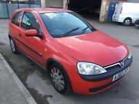 Vauxhall Corsa 1.0i 12v SE Life 3 door - 2002 02-REG - 8 MONTHS MOT