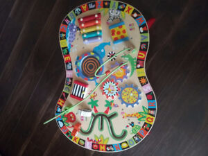 Handmade Activity table for baby/toddler