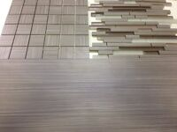 Bamboo porcelain tile 12x24  $2.29 SF &  matching glass accent
