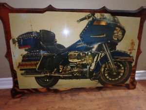 Vintage Harley Picture, Pins and Patches