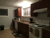 two bedroom fully furnished basement suite for rent