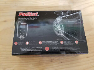 PRO START REMOTE CAR STARTER. NEW IN THE BOX