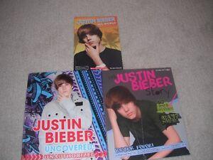 3 Brand New Justin Bieber Books