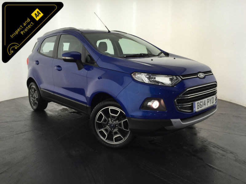 2014 FORD ECO SPORT TITANIUM X-PACK TDCI DIESEL 1 OWNER FINANCE PX
