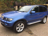 BMW X5 4.4i auto 2005 / 05 Reg / Pan roof / Low Mileage -----GEARBOX FAULT------