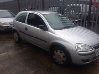 Vauxhall corsa c for parts breaking